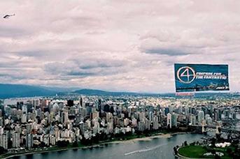Aerial Advertising Calgary Alberta Canada