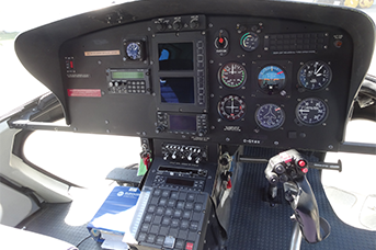 Helicopter Night Rating Pilot Training Calgary Alberta Canada - Night Rating training - Electronis of a Helicopter