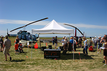 Air Taxi services at L R Helicopters
