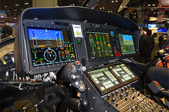 Helicopter Instrument Rating Calgary Alberta Canada - Helicopter electronics interior