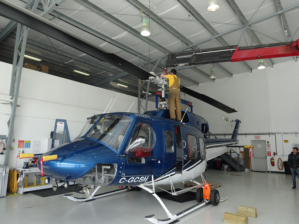 Aircraft Maintenance at L R helicopters