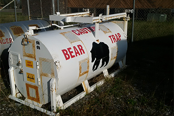 Fish and Wild life management - bear tanker